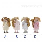 выкройки русской куклы сувенирной.