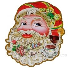 Новогоднее панно Санта, L34 W27 см