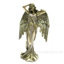 Фигурка декоративная Девушка-ангел, H 23 см