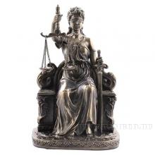 Фигурка декоративная Фемида (богиня правосудия), H 14 см