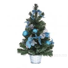 Искусственные елки с украшениями