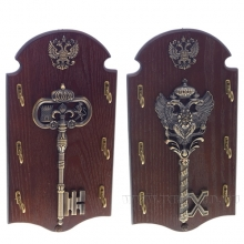 Ключница Ключ, L12W30H1,2см, 2в