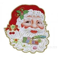 Панно новогоднее Дед Мороз, 35х43 см