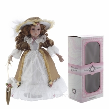 Фарфоровая кукла Кристина, 40 см