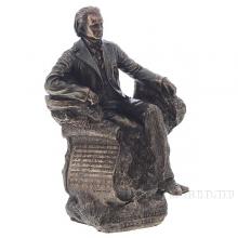 Фигурка декоративная Иоганн Брамс, Н25см