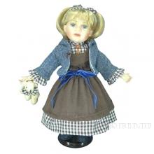 Кукла фарфоровая Катюша, 40 см