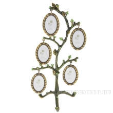 Фоторамка Семейное дерево на 5 фото, L 14 W 11 H 29 см