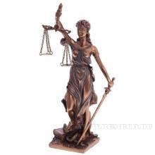 Фигурка декоративная Фемида (Богиня правосудия), 21 см
