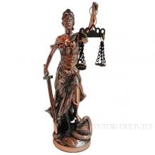 Фигурка декоративная Фемида (Богиня правосудия), L10 W8 H21см