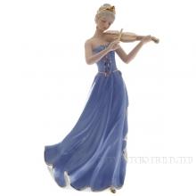 Фигурка декоративная Девушка со скрипкой, 33, см