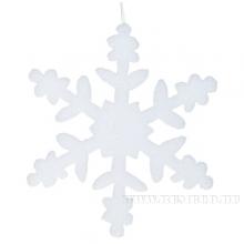 Новогоднее украшение Снежинка, 30см