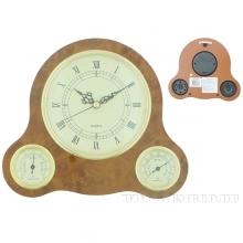 Метеостанция настенная (часы, термометр, гигрометр), 20,3х5,5х23,6см