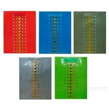 Пакет подарочный (бумага, плотность 210г/м2, блок 12шт), L26 W12.5 H32 см, 5в.