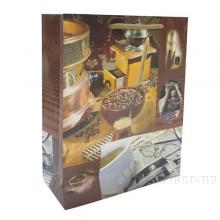 Пакет подарочный (бумага, плотность 128 г/м2, блок 12шт), 18х7  H24 см