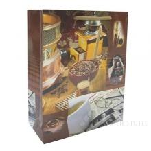 Пакет подарочный (бумага, плотность 128 г/м2, блок 12шт), 26х9  H32 см