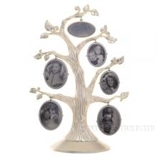 Фоторамка Семейное дерево на 5 фото, H33 см