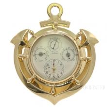 Часы настенные Якорь H28см