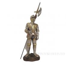 Фигурка декоративная Рыцарь, L8 W6,5 H24 см