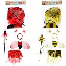 Набор карнавальный Божья коровка, Пчела Составляющие набора: юбка для карнавалов (размер 32, 6-7