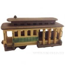 Изделие декоративное Трамвай, L25,5 W9,8 H14,2 см