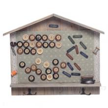 Панно Календарь с крючками, L39 W5 H32 см