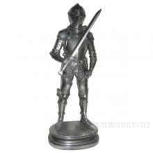 Фигурка декоративная Рыцарь, L19 W14 H42 см