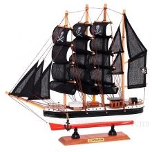 Изделие декоративное Корабль Сonfection, L33 W6,5 H33 см