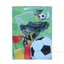 Пакет подарочный 3D (бумага, плотность 210г/м2, блок 12шт), L26 W10 H32 см