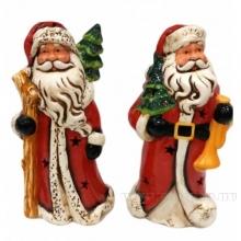 Фигурка декоративная с подсветкой Дед Мороз , L13 W11 H28см, 2в