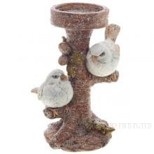 Подсвечник Птички, 9,5х7,5х14 см