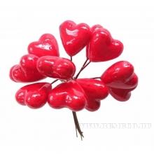 Ветка с сердцами, 12,5 см
