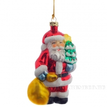 Новогоднее украшение Санта, 11,5см (без инд.упаковки)