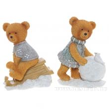 Фигурка декоративная Медвежонок L7,5W5,5 H10,5, 2в.