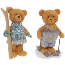 Фигурка декоративная МедвежонокL6 W5,5 H10см 2в.