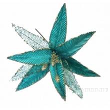 Новогоднее украшение Цветок, 32х35 см