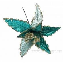 Новогоднее украшение Цветок, 28х29 см