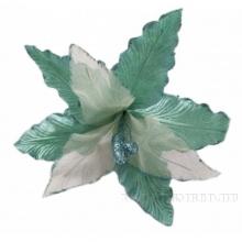 Новогоднее украшение Цветок, 26х28 см