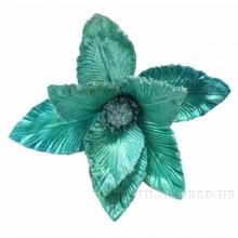 Новогоднее украшение Цветок, 23х30 см