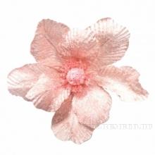 Новогоднее украшение Цветок, 21х22 см