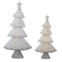 Электрогирлянды, светящиеся деревья и фигуры, новогодние светотехнические украшения