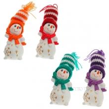 Снеговик, L 3,5W3,5H7см, 4в