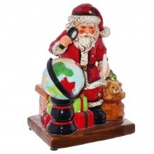 Фигурка декоративная с подсветкой Санта, L16,5 W14 H22,5 см (3хААА, не прилаг)