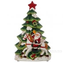 Фигурка декоративная с подсветкой Ёлка, L20,3 W11,5 H30,7 см (3хААА не прилаг)