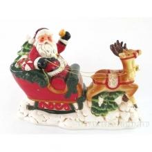 Фигурка декоративная с подсветкой Санта, L31,7 W14,2 H21,3 см (3хААА не прилаг)