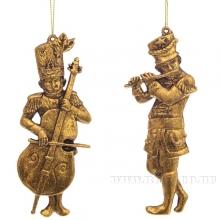 Новогоднее украшение Музыкант, L5 W0,9 H12,7 см, 2 в.