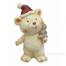 Фигурка декоративная Медвежонок,L8,8 W7,9 H16,4см, 2 в