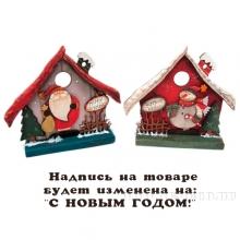 Новогоднее украшение Снеговик, Дед МорозL21 W6 H25, 2в.
