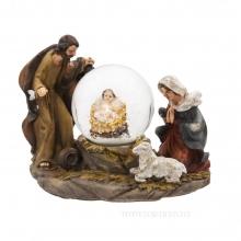 Фигурка декоративная в стеклянном шаре, 45 мм, 2 в.