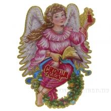 Новогоднее панно Ангел, L28см, H30см