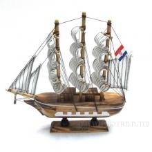 Изделие декоративное Корабль Сroatia,L20 W4 H19см